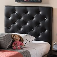 Baxton Studio Viviana Faux Leather Twin Headboard
