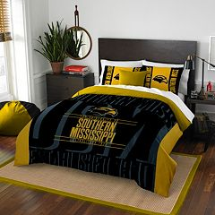 Southern Miss Golden Eagles Modern Take Full/Queen Comforter Set by Northwest