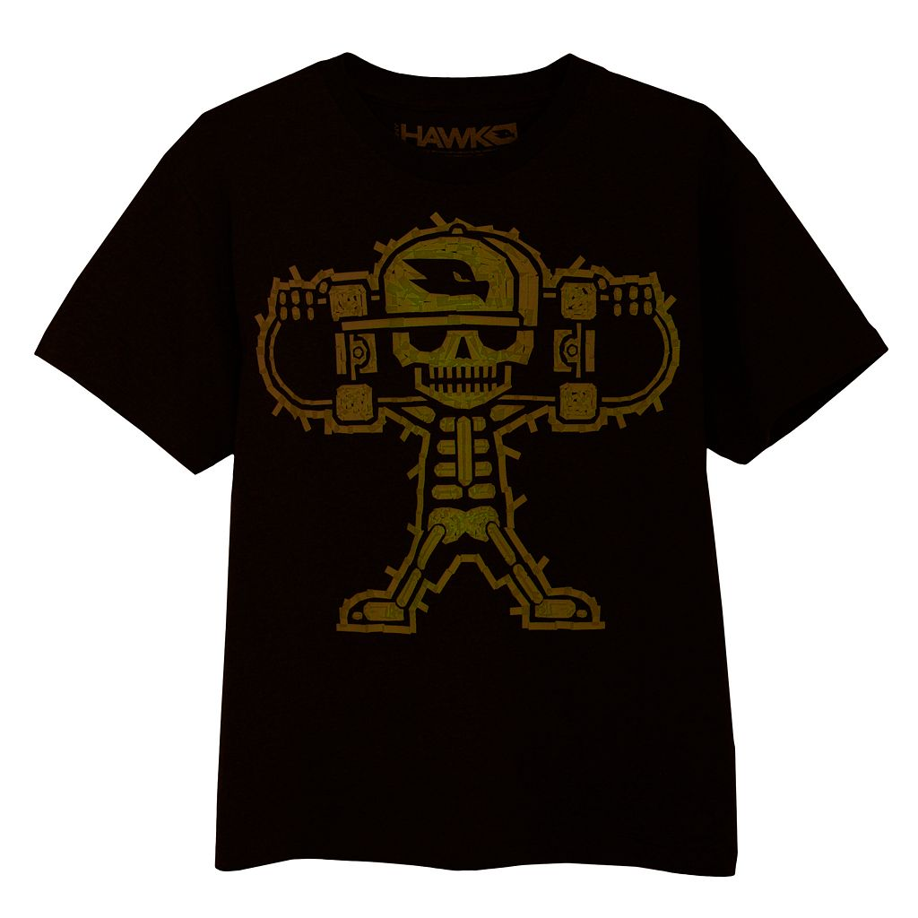 Boys 8-20 Tony Hawk Skelly Glow-in-the-Dark Tee