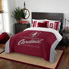 Stanford Cardinal Modern Take Full/Queen Comforter Set by Northwest
