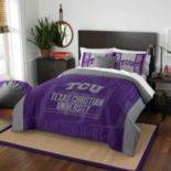TCU Horned Frogs Modern Take Full/Queen Comforter Set by Northwest
