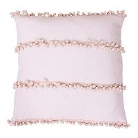 Thro by Marlo Lorenz Petrina Payton Pom Pom Faux Velvet Throw Pillow