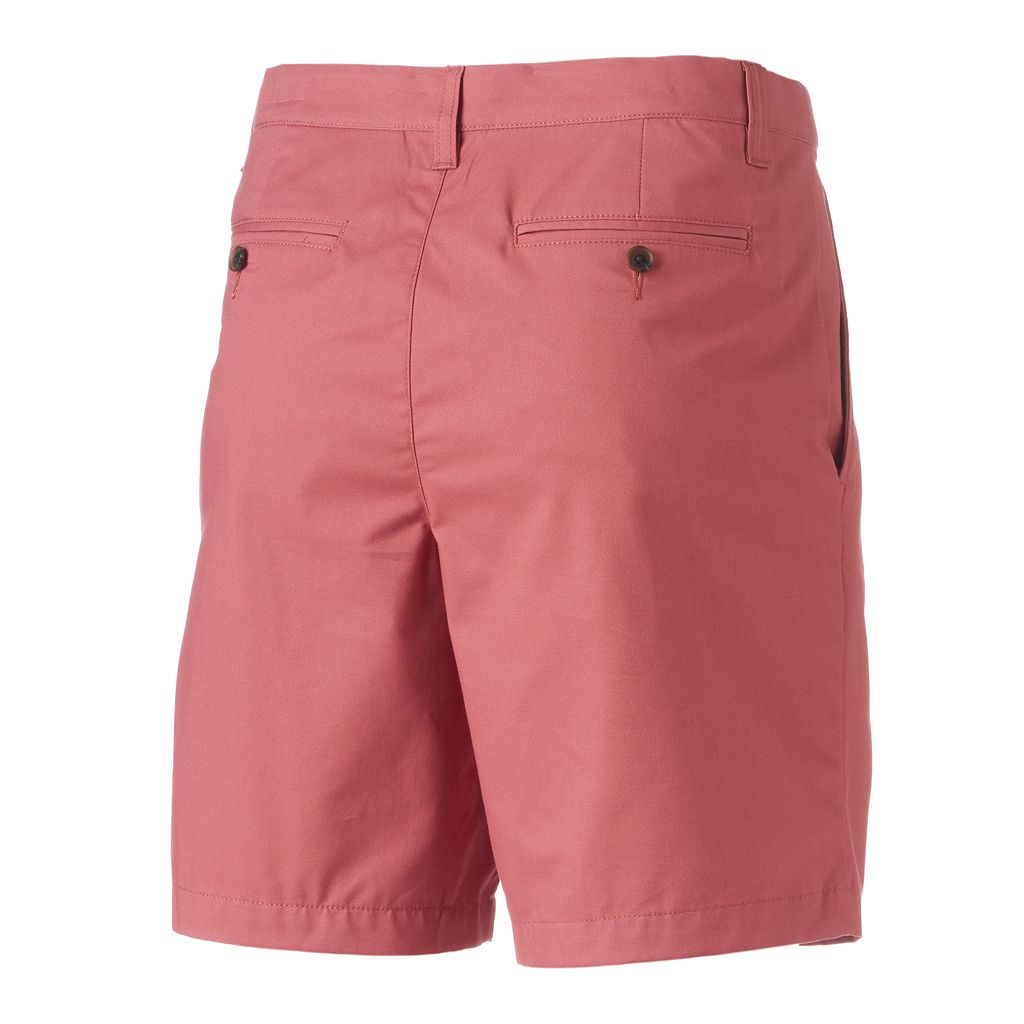 Big & Tall Croft & Barrow® True Comfort Classic-Fit Stretch Pleated Shorts
