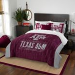 Texas A&M Aggies Modern Take Full/Queen Comforter Set by Northwest