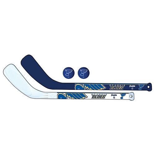 Franklin St. Louis Blues Mini Hockey Player Set