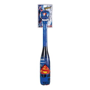 Franklin Sports Superman Soft Sport Bat & Ball Set