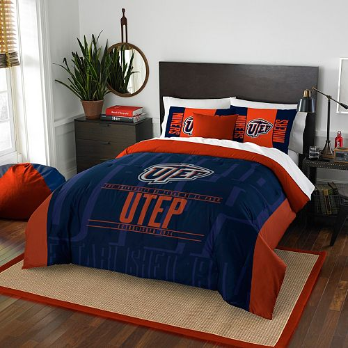 UTEP Miners Modern Take Full/Queen Comforter Set by Northwest