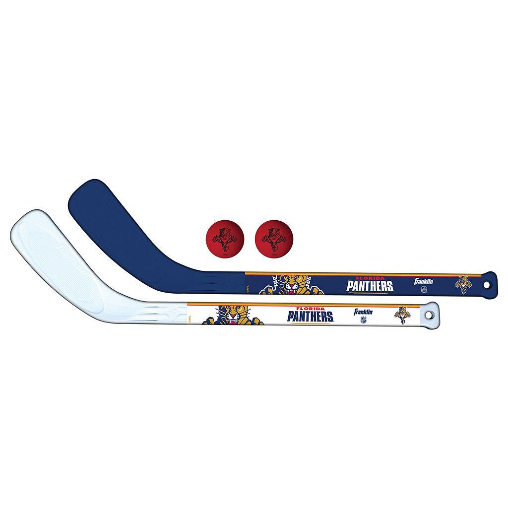 Franklin Florida Panthers Mini Hockey Player Set