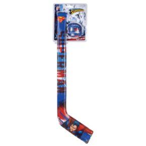 Franklin Sports Superman Soft Sport Hockey Stick & Ball Set