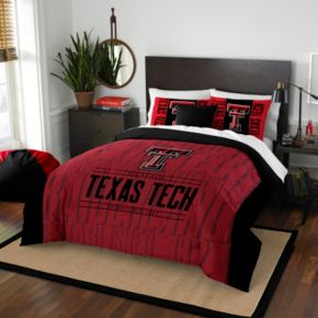 Texas Tech Red Raiders Modern Take Full/Queen Comforter Set by Northwest