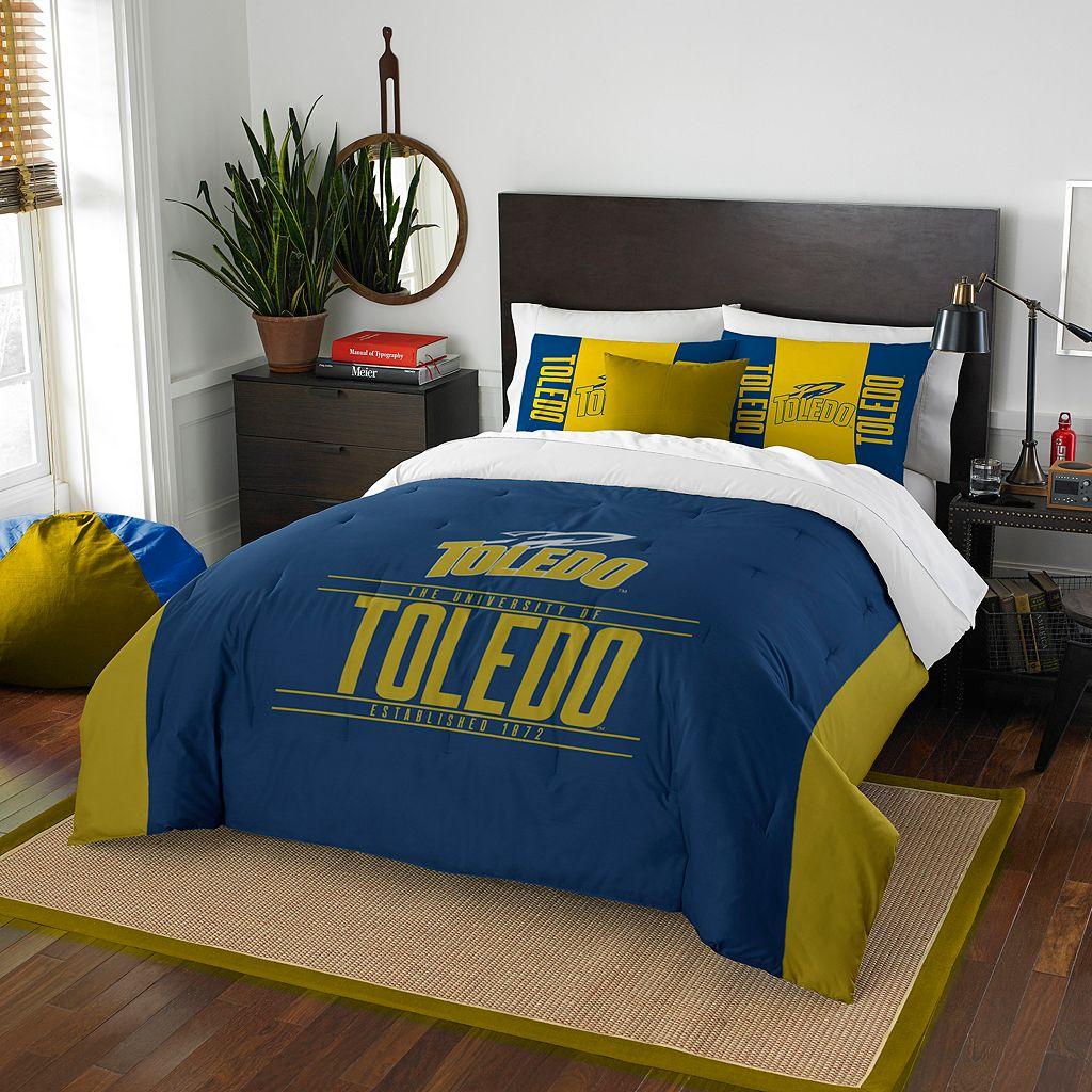 Toledo Rockets Modern Take Full/Queen Comforter Set by Northwest
