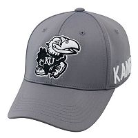 Youth Top of the World Kansas Jayhawks Bolster Mesh Cap
