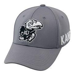Youth Top of the World Kansas Jayhawks Bolster Mesh Cap