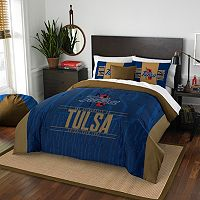 Tulsa Golden Hurricane Modern Take Full/Queen Comforter Set by Northwest