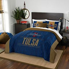 Tulsa Golden Hurricane Modern Take Full/Queen Comforter Set by Northwest