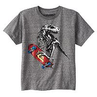 Boys 8-20 Tony Hawk Dinosaur Tee