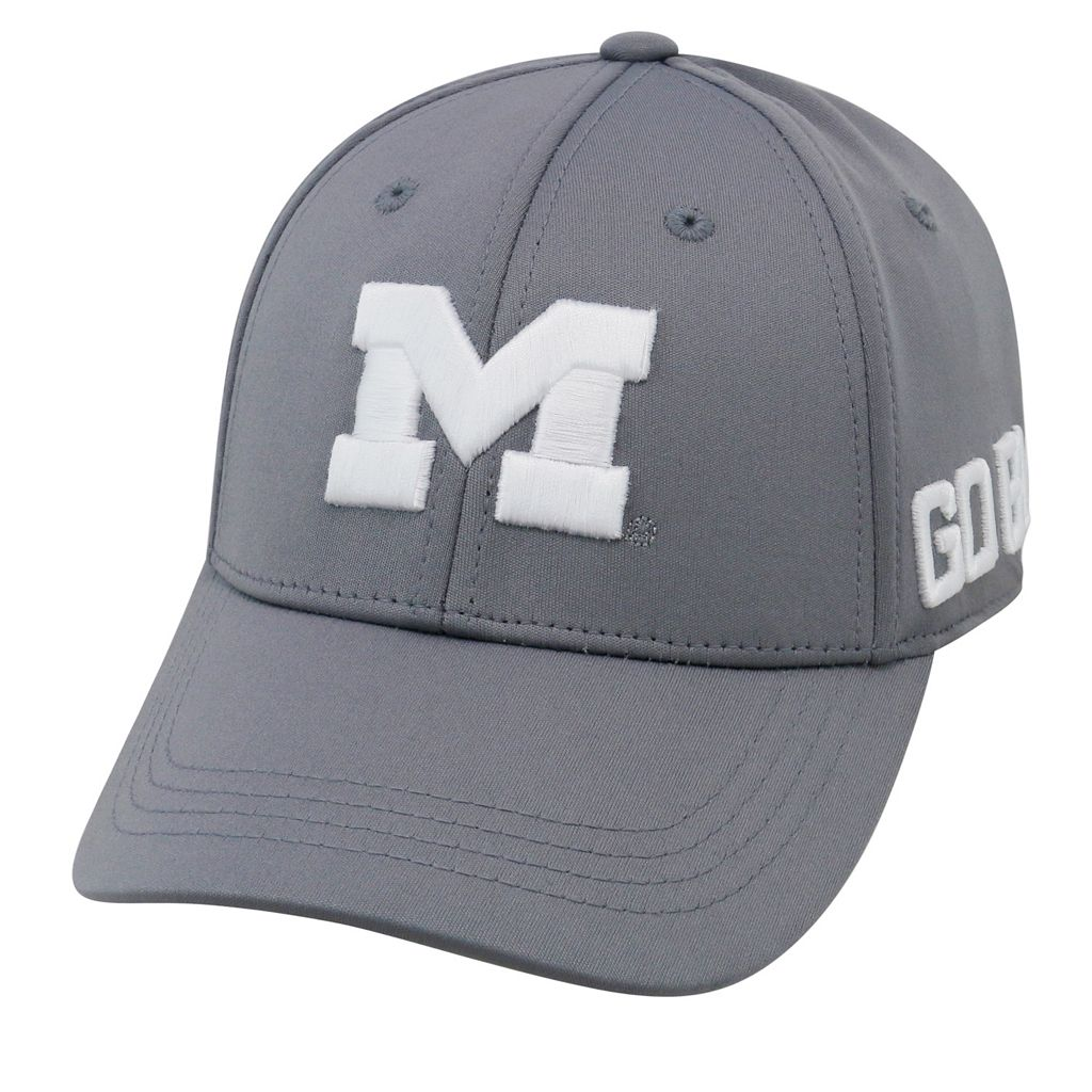 Youth Top of the World Michigan Wolverines Bolster Mesh Cap