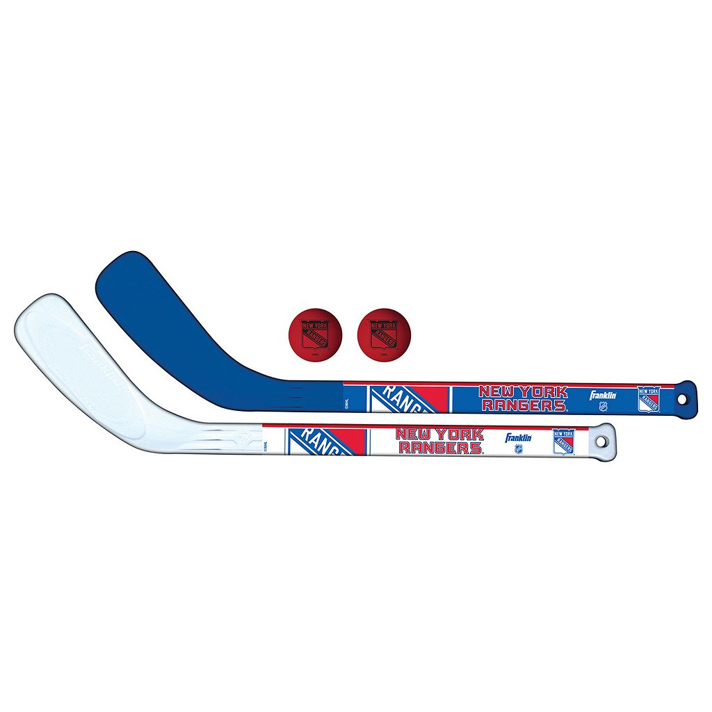 Franklin New York Rangers Mini Hockey Player Set