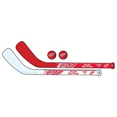 Franklin Sports Detroit Red Wings Mini Hockey Player Set