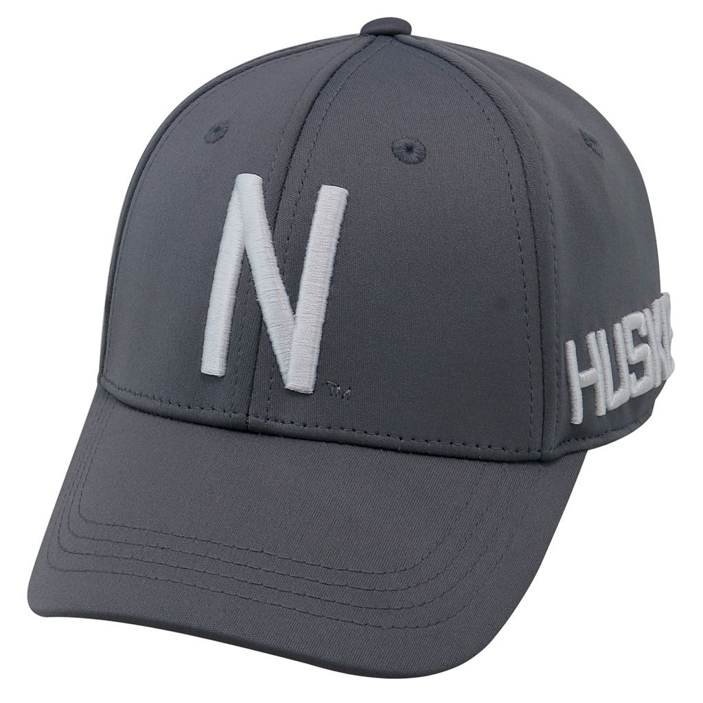 Youth Top of the World Nebraska Cornhuskers Bolster Mesh Cap