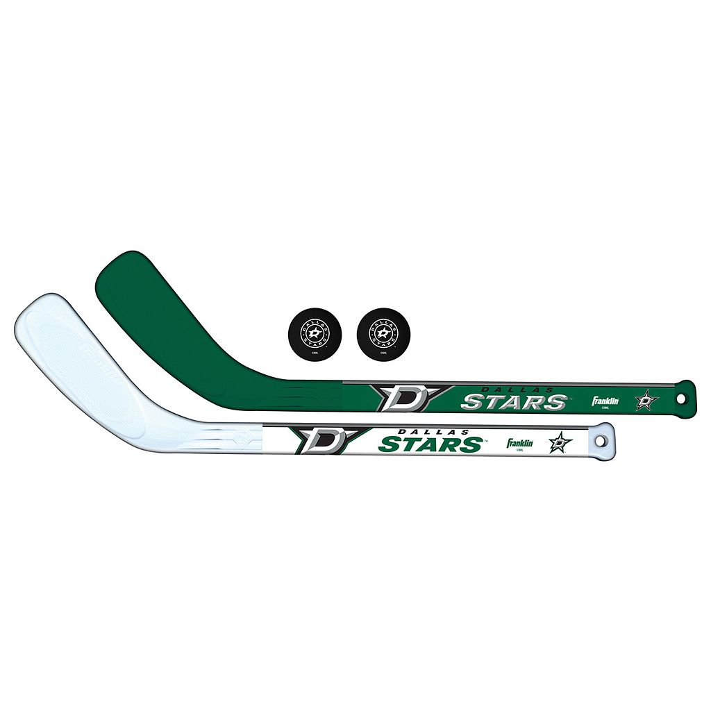 Franklin Dallas Stars Mini Hockey Player Set
