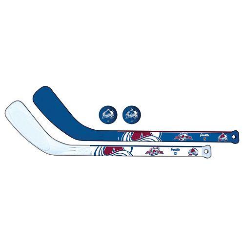 Franklin Sports Colorado Avalanche Mini Hockey Player Set