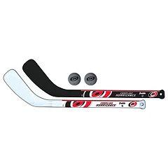 Franklin Sports Carolina Hurricanes Mini Hockey Player Set