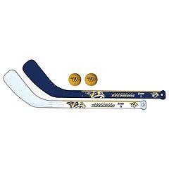 Franklin Nashville Predators Mini Hockey Player Set