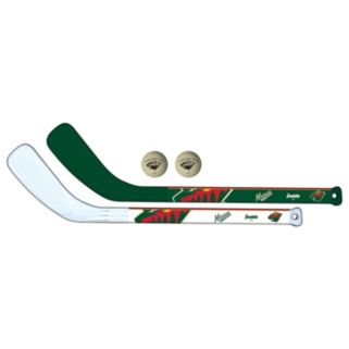 Franklin Minnesota Wild Mini Hockey Player Set
