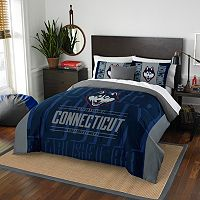UConn Huskies Modern Take Full/Queen Comforter Set by Northwest