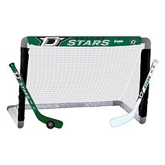 Franklin Sports Dallas Stars Mini Hockey Set