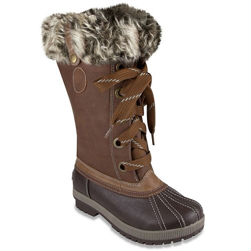 32266b4abba London Fog Melton 2 Women s Winter Duck Boots