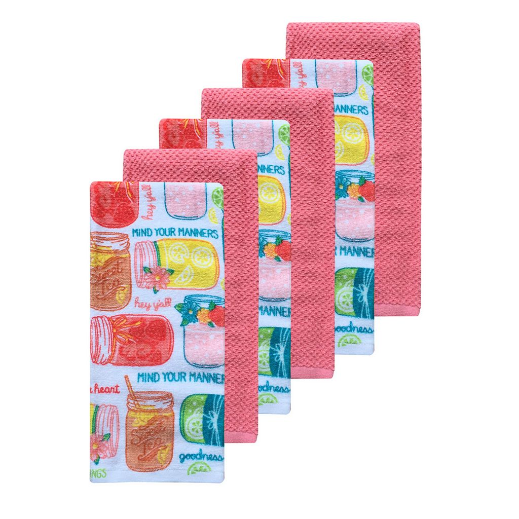 The Big One® Southern Kitchen Towels - 6-pk.