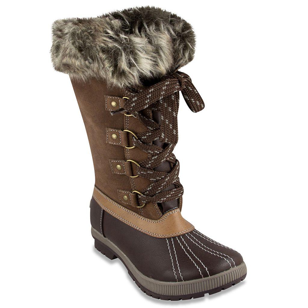 London Fog Melton Luxe Women's Winter Boots