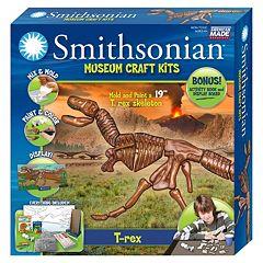 Skullduggery Smithsonian Museum T-Rex Craft Kit