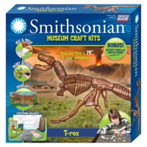 Skullduggery Smithsonian Museum T-Rex Craft Kit