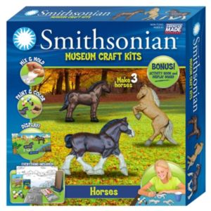 Skullduggery Smithsonian Museum Horse Craft Kit