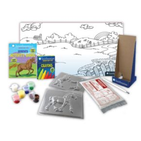 Skullduggery Smithsonian Museum Horse Craft Kit