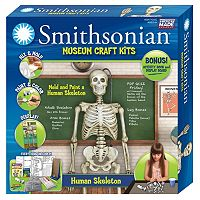 Skullduggery Smithsonian Museum Human Craft Kit