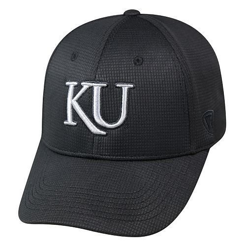 Adult Top of the World Kansas Jayhawks Digi One-Fit Cap