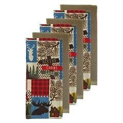 The Big One® Lodge Kitchen Towels 6-pack