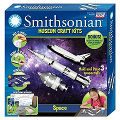 Skullduggery Smithsonian Museum Space Craft Kit