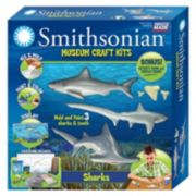 Skullduggery Smithsonian Museum Sharks Craft Kit