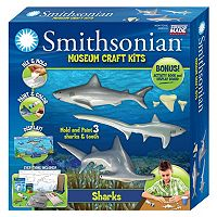 Skullduggery Smithsonian Museum Sharks Craft Kit