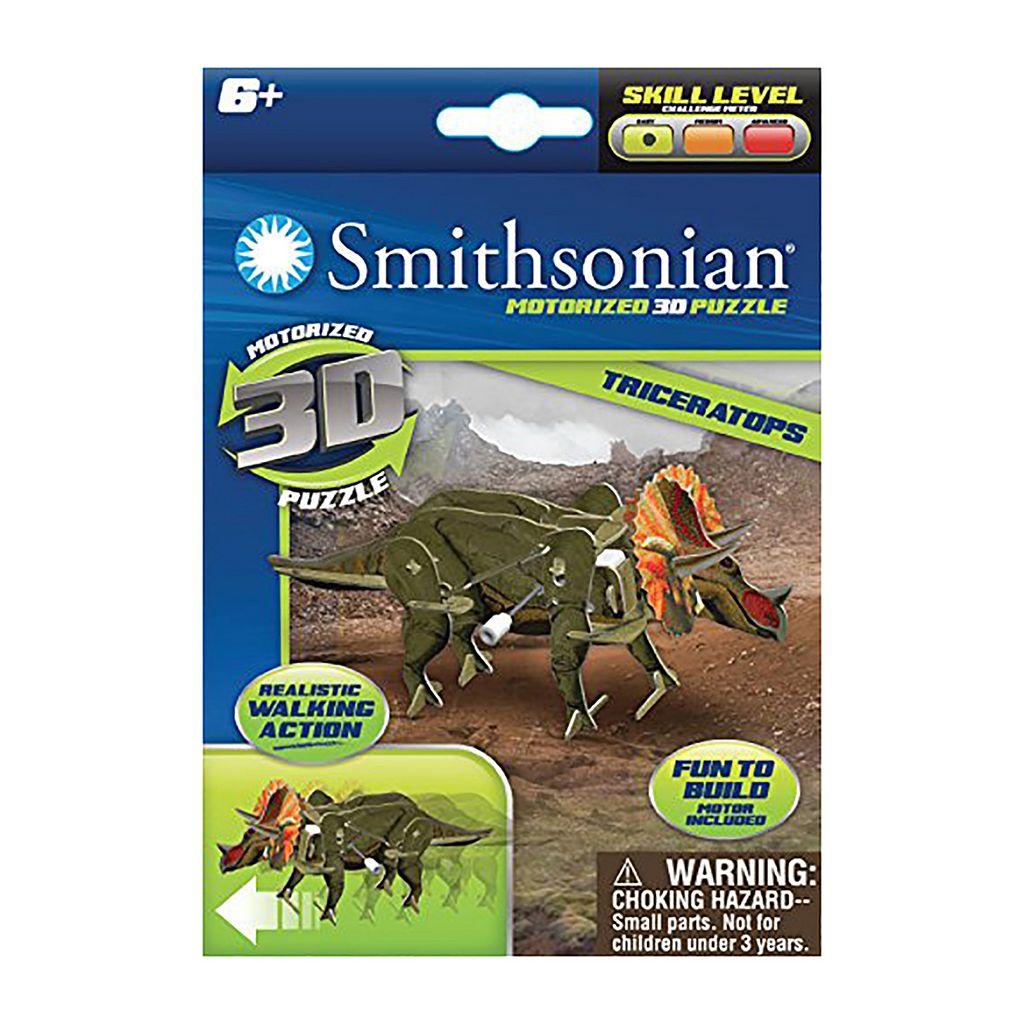 Skullduggery Smithsonian 3-pk. Dinosaur 3D Motorized Puzzles