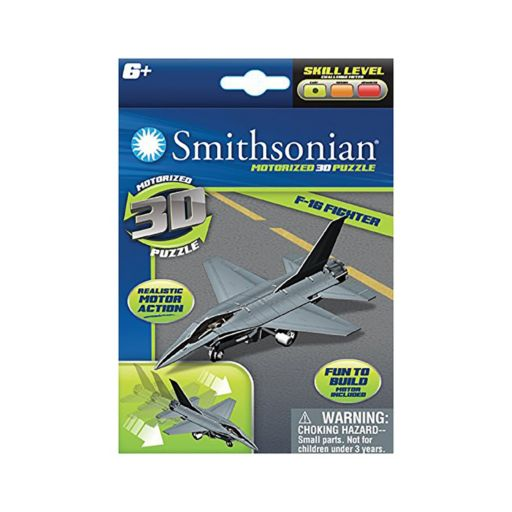 Skullduggery Smithsonian 3-pk. Flight 3D Motorized Puzzles