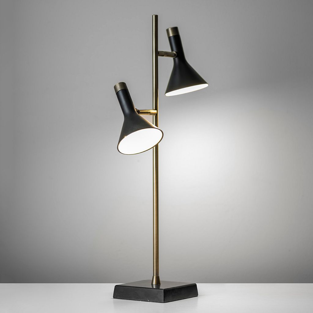 Adesso Bennett 2-Light LED Desk Lamp