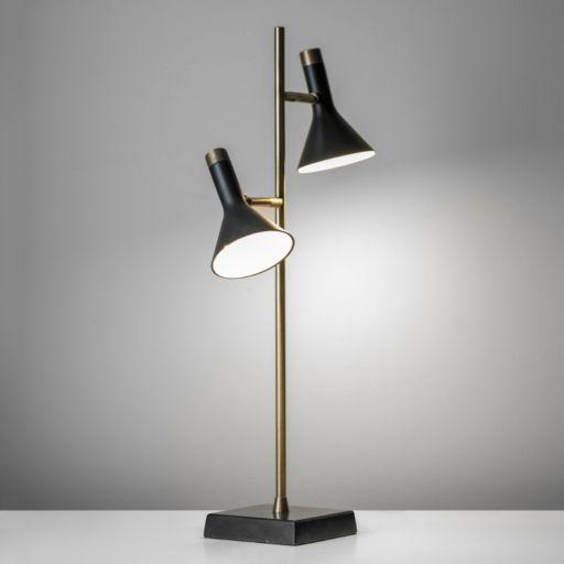 Adesso Bennett 2-Light LED Desk Lamp