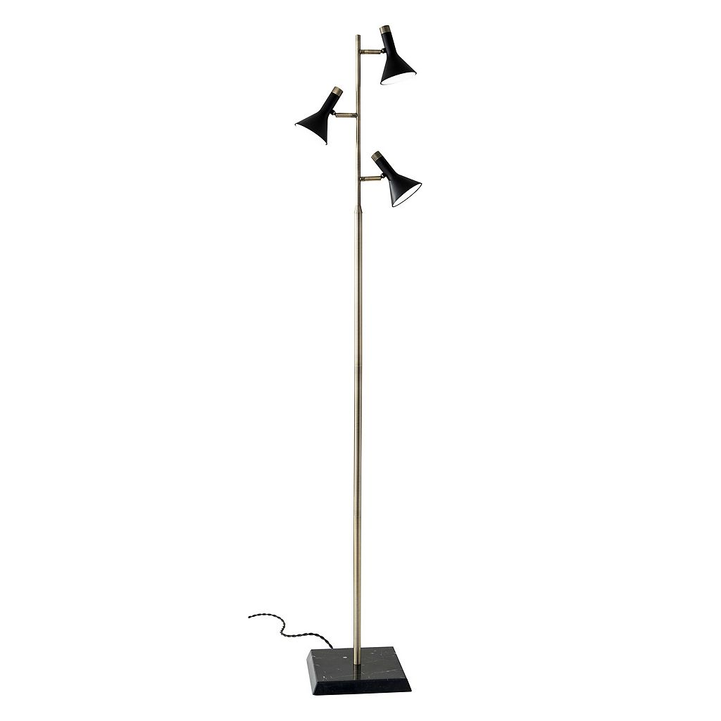 Adesso Bennett 3-Light LED Floor Lamp