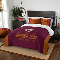 Virginia Tech Hokies Modern Take Full/Queen Comforter Set by Northwest